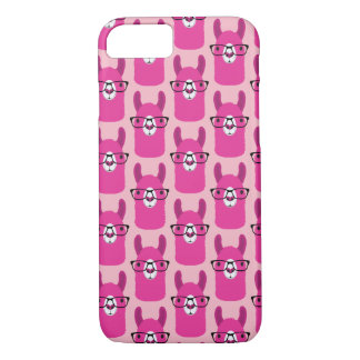 Apple iPhone Case Pink Llama
