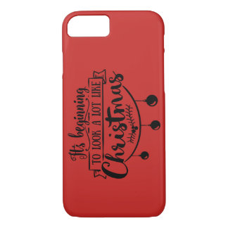 "Apple iPhone ""Its Beginning"" Christmas Case"