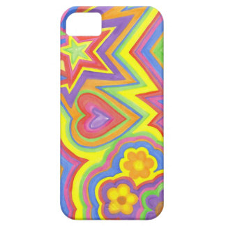 """Apple iPhone SE + 5/5S, Barely There Case """"Happy"""""""