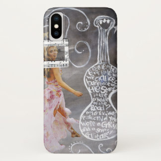 """Apple iPhone X, Barely There Phone Case """"Gypsy"""""""