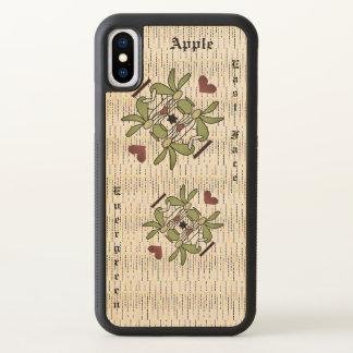 Apple iPhone X Bumper Maple Wood Case
