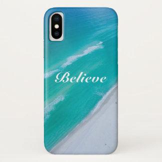 Apple iPhone X Case - Believe