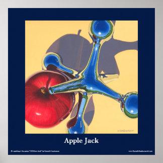 "Apple Jack Fine Art Poster, 24"" x 24"" Poster"