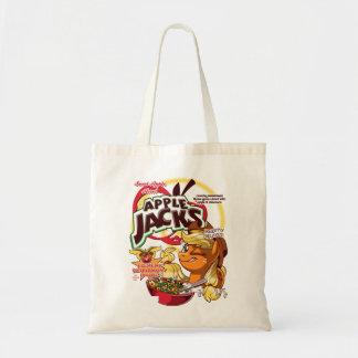 apple jacks tote bag