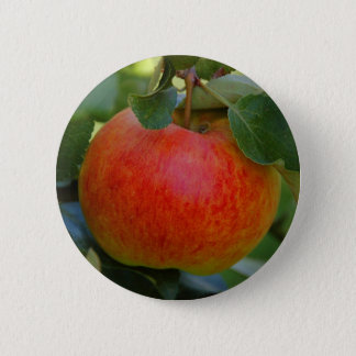 Apple James Grieve 2 Inch Round Button