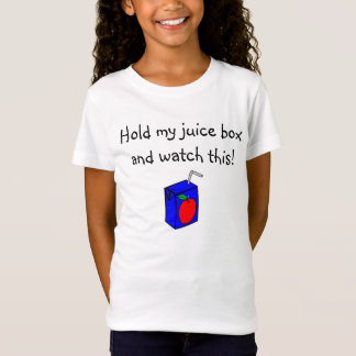 apple_juice_box, Hold my juice box and watch this! T-Shirt