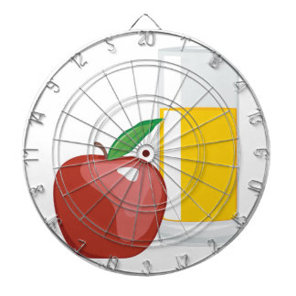 Apple Juice Dartboard
