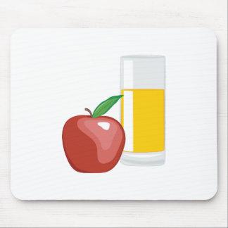 Apple Juice Mouse Pad