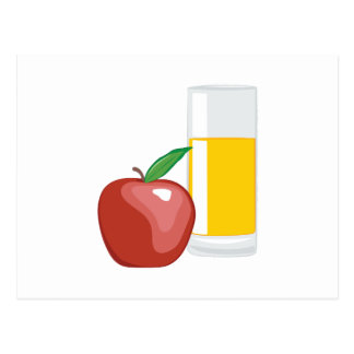 Apple Juice Postcard