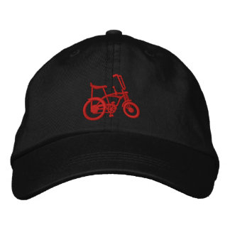 Apple Krate Classic 60's Muscle Bike Bicycle Cap Embroidered Baseball Cap