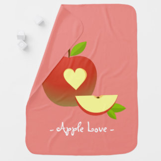 Apple Love Baby Blanket