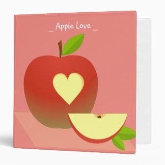 Apple Love Binder