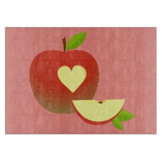 Apple Love Cutting Board