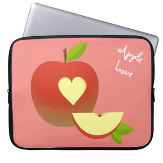 Apple Love Laptop Sleeve