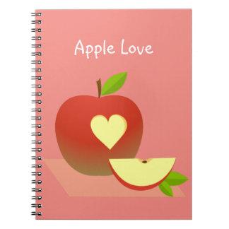 Apple Love Notebook