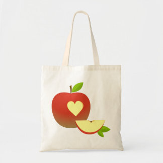 Apple Love Tote Bag