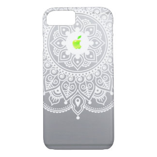 Apple Mandala green iPhone 7 Case