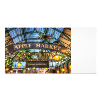 Apple Market Covent Garden Londo Photo Cards