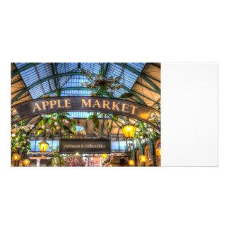 Apple Market Covent Garden Londo Picture Card