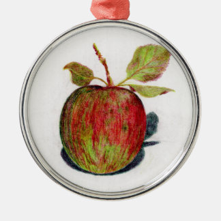 Apple Metal Ornament