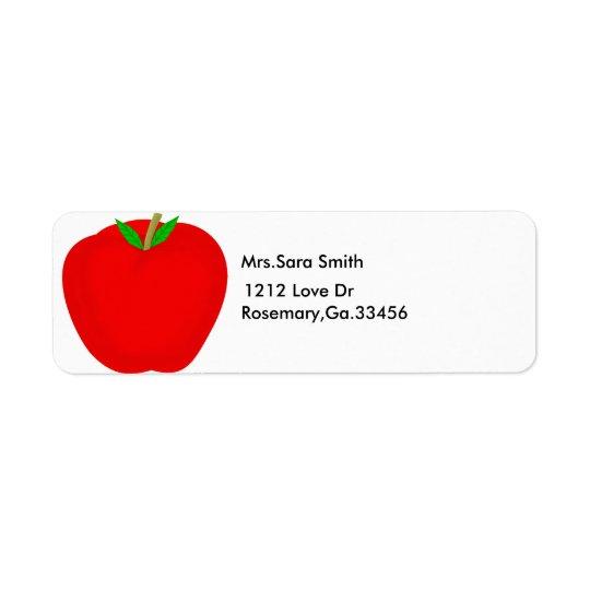 apple, Mrs.Sara Smith, 1212 Love Dr, Rosemary,G...
