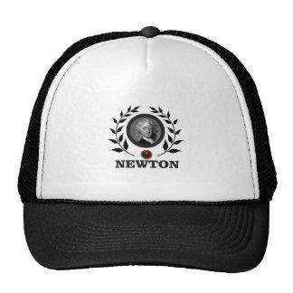 apple newton art trucker hat