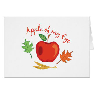 Apple Of Eye Card