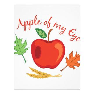 Apple Of Eye Customized Letterhead
