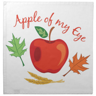 Apple Of Eye Napkin