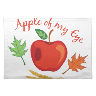 Apple Of Eye Placemat