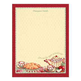 Apple of God's Eye Personalized Letter Stationery