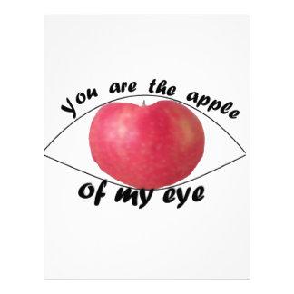 Apple of my eye letterhead