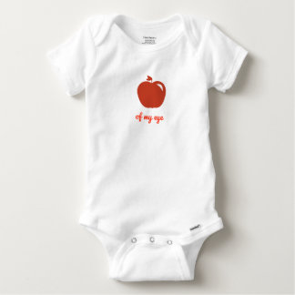 Apple of my eye merchandise baby onesie
