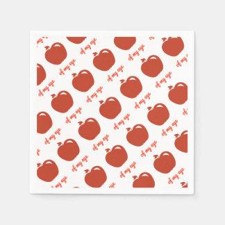Apple of my eye merchandise napkin