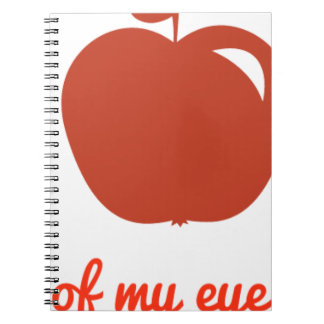 Apple of my eye merchandise notebook