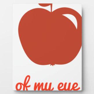 Apple of my eye merchandise plaque
