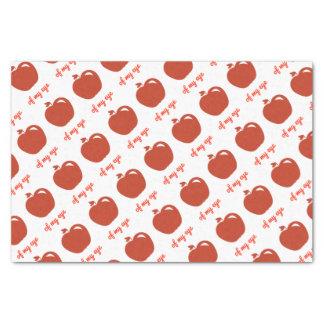 Apple of my eye merchandise tissue paper