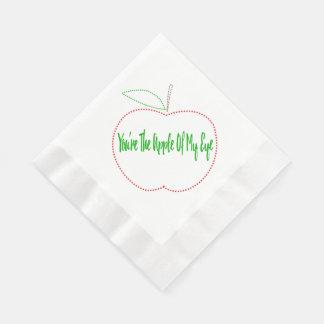 Apple of my eye napkins disposable napkins