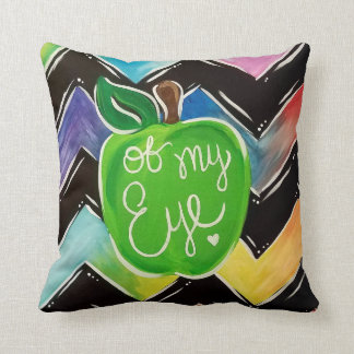 Apple of My Eye Throw Pillow