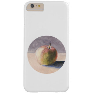 Apple on Table - Painting in Circle Barely There iPhone 6 Plus Case
