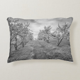 Apple Orchard in Spring Pillow
