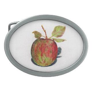 Apple Oval Belt Buckle