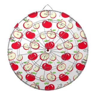 Apple pattern dartboard