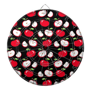 Apple pattern dartboards