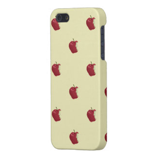 apple pattern iphone5 matte iPhone 5 covers