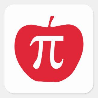Apple Pi, Apple Pie Square Sticker