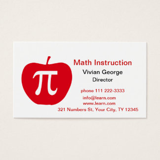 Apple Pi Business Card