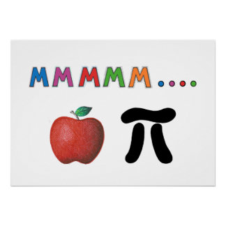 Apple Pi Poster