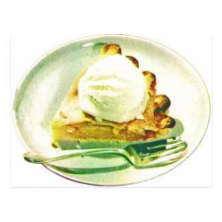 Apple Pie 1955 Postcard