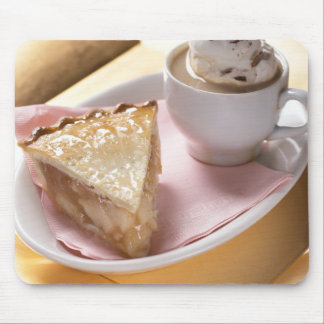 Apple pie and hot cocoa mouse pads